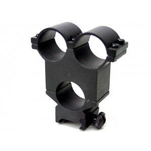 Army Force 25mm Triple Scope/Flashlight/Laser Mount Ring