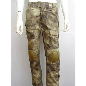 CP Gen 2 Style Tactical Combat Pants with Knee Pads A-TACS Camo