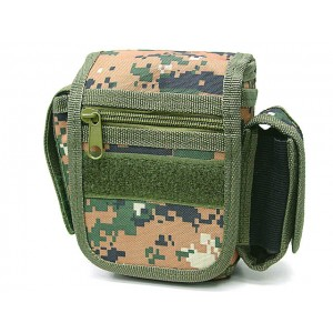 Utility Duty Tool Waist Pouch Carrier Bag Digital Camo Woodland