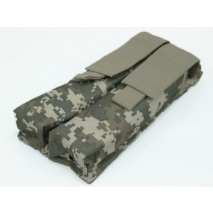 Airsoft Molle Double P90/UMP Magazine Pouch Digital ACU Camo