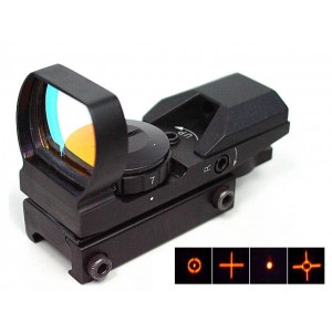 Holographic Multi 4 Reticle Red Dot Sight Reflex