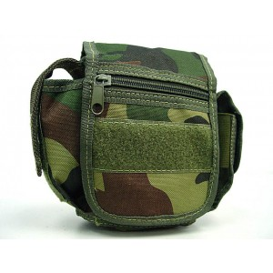 Utility Duty Tool Waist Pouch Carrier Bag Camo Woodland