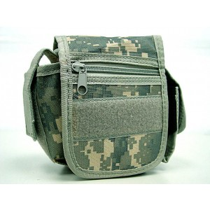Utility Duty Tool Waist Pouch Carrier Bag Digital ACU Camo
