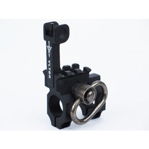 Army Force Vltor Type Flip-Up Front Sight with Sling Swivel