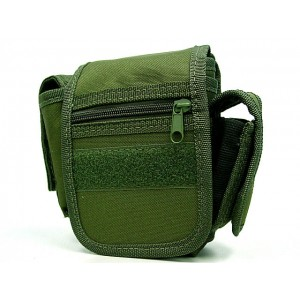 Utility Duty Tool Waist Pouch Carrier Bag OD