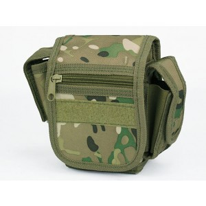 Utility Duty Tool Waist Pouch Carrier Bag Multi Camo
