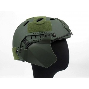 Up-Armor Side Cover for Fast Helmet Rail OD