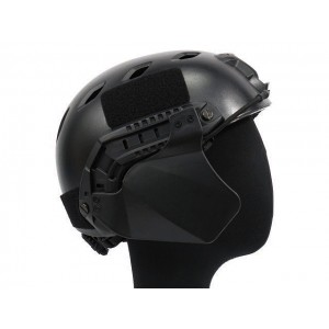 Up-Armor Side Cover for Fast Helmet Rail Black