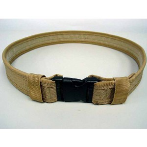 "Combat BDU Airsoft 1.5"" Duty Belt Coyote Brown"