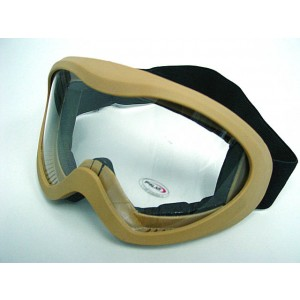 Airsoft X400 Wind Dust Tactical Goggle Glasses Tan
