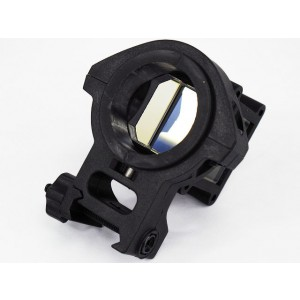 Tactical Angle Sight for Dot Sight Device Black