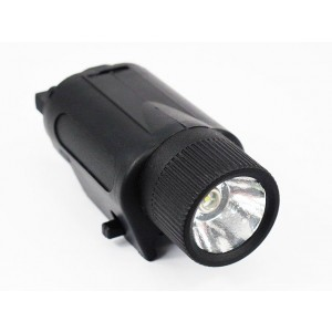 M3 6V 180Lm CREE LED Tactical Illuminator Flashlight Black