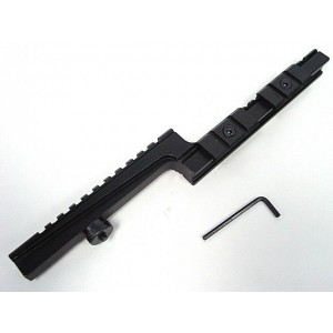 Z Type Bi-Level Carry Handle 20mm Rail Scope Mount Base