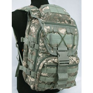 Molle Patrol Gear Assault Backpack Digital ACU Camo