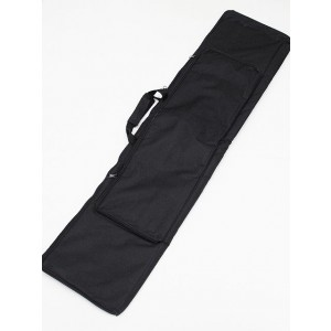"45"" 9.11 Dual Rifle Carrying Case Gun Bag Black"