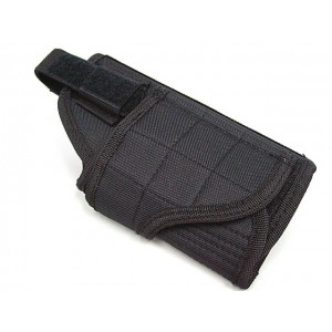 Molle Handgun Pistol Belt RH Holster Black