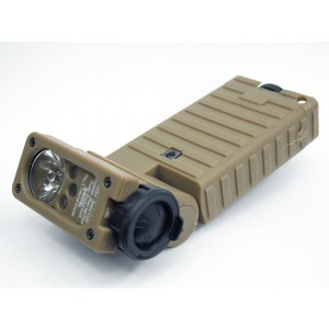Element Stream Sidewinder LED Flashlight Tan