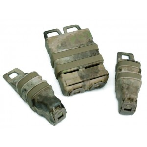 Molle FastMag Magazine Clip Set for M4/Pistol/MP5 A-TACS Camo