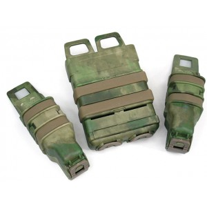 Molle FastMag Magazine Clip Set for M4/Pistol/MP5 A-TACS Camo FG
