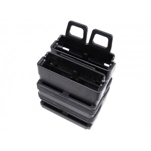 Molle FastMag Magazine Clip Set for 7.62 AK/M14 Black