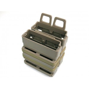 Molle FastMag Magazine Clip Set for 7.62 AK/M14 Tan
