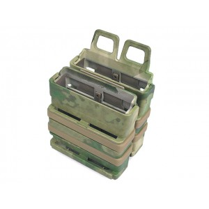 Molle FastMag Magazine Clip Set for 7.62 AK/M14 A-TACS Camo FG
