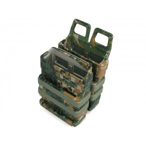 Molle FastMag Magazine Clip Pouch Set Gen. 3 Marpat Woodland