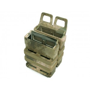 Molle FastMag Magazine Clip Holder Pouch Set Gen. 3 A-TACS Camo