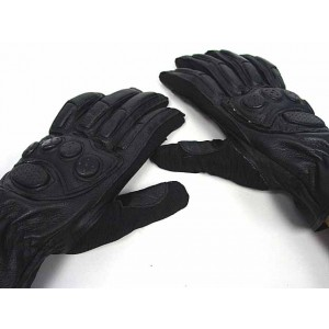 SWAT Army Full Finger Airsoft Paintball Leather Gloves