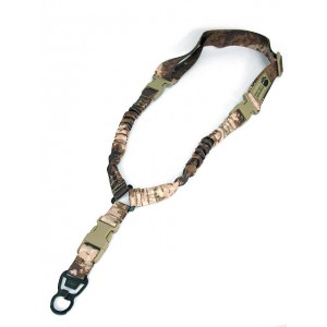 Emerson Elastic Bungee CQB Single Point Rifle Sling A-TACS Camo