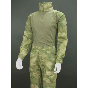 EMERSON Combat Shirt & Pants A-TACS Camo FG w/ Elbow & Knee Pads
