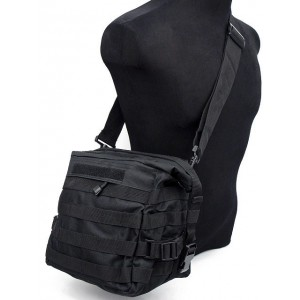 Molle Tactical Utility Gear Shoulder Bag Black