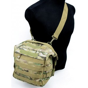 Molle Tactical Utility Gear Shoulder Bag Multi Camo