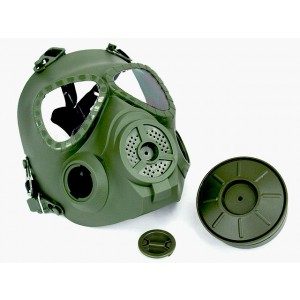 Full Face Dummy Gas Mask with Fan Ventilation OD