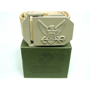US Army Navy Eagle Tactical BDU Nylon Duty Belt Tan