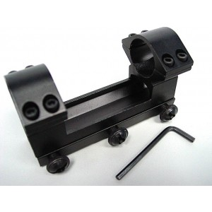 "1""25mm High QD Scope Dual Ring Mount 20mm RIS Rail"