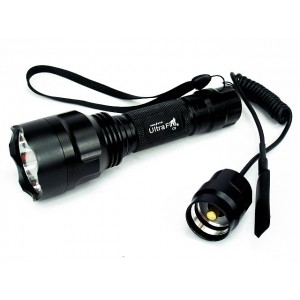 UltraFire C8 T6 CREE LED 1300 Lm Flashlight w/Pressure Switch