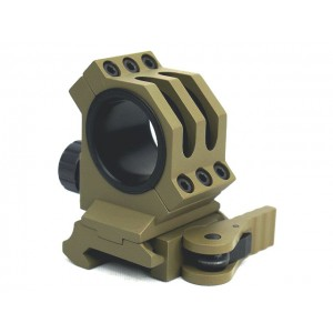 25mm/30mm Scope Red Dot Sight QD Lever Mount Tan