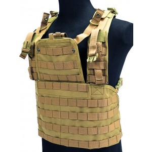 Airsoft Molle RRV Platform Vest Coyote Brown