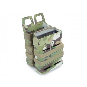 Molle FastMag Magazine Clip Holder Pouch Set Gen. 3 Multi Camo