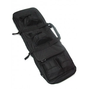 "33"" Dual Rifle Carrying Case Gun Bag Black"