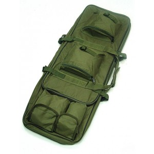 "33"" Dual Rifle Carrying Case Gun Bag OD"