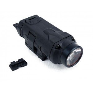 Tactical CREE LED Pistol Weapon Flashlight Black