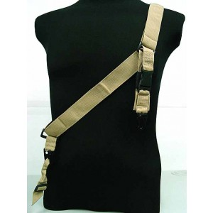 Universal 3-Point QD Tactical Rifle Sling Coyote Brown