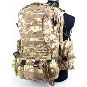 CamelPack Tactical Molle Assault Backpack Digital Desert Camo