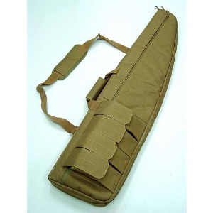 "40"" Tactical Rifle Sniper Case Gun Bag Coyote Brown"