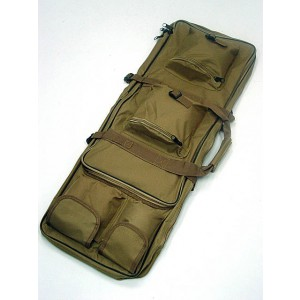 "33"" Dual Rifle Carrying Case Gun Bag Coyote Brown"