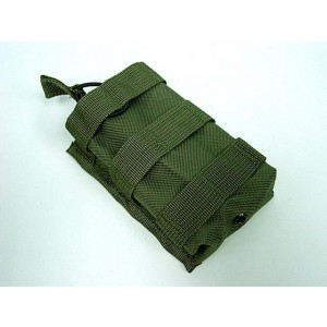Molle Open Top Magazine/Walkie Talkie Pouch OD