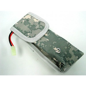AEG External Large Battery Pouch Bag Pack Digital ACU Camo