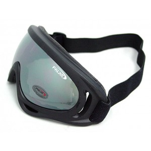 Airsoft UV-X400 Wind Dust Tactical Goggle Glasses Black